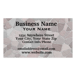 Business Card Patio Stones