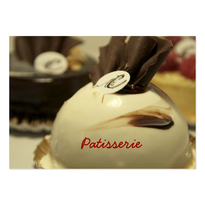 Business Card Patisserie