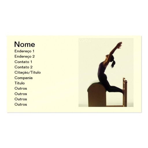 Business card - Pilates