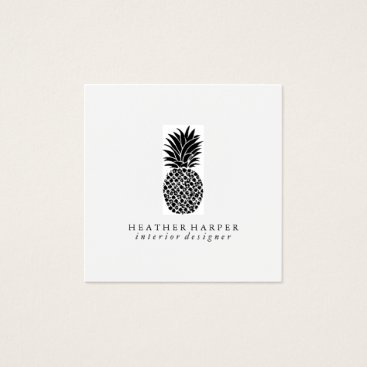 Professional Business Business Card - Pineapple