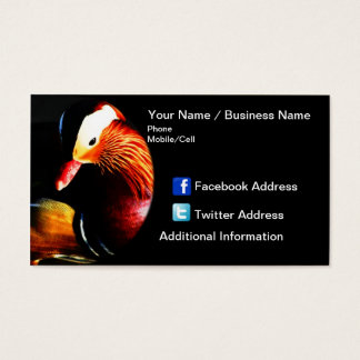 Business Card - Plummage