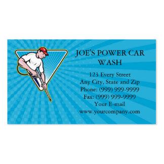 Business card Power Washing Pressure Water Blaster