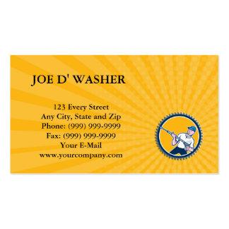 Business card Pressure Washer Water Blaster Rosett