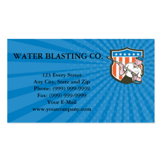 Business card Pressure Washer Water Blaster USA Fl