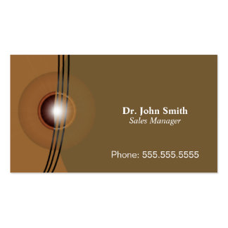 Business Card Professional Elegant Brown Style