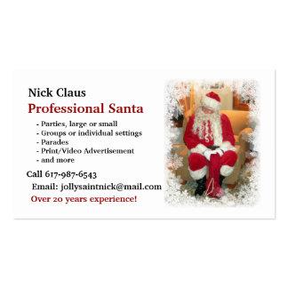 Business Card: Professional Santa Business Card