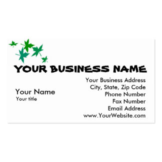 Business Card Professional White Template