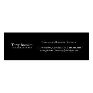 Business Card | Profile II |blk