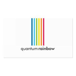 BUSINESS CARD :: rainbowed stripe 1