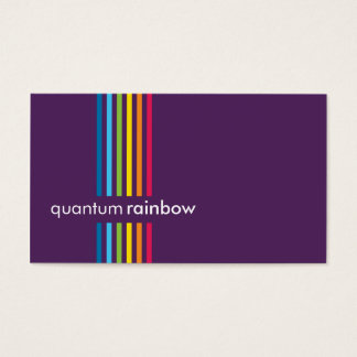 BUSINESS CARD :: rainbowed stripe 5