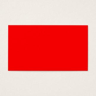 Business Card Red ~ Dark Blue