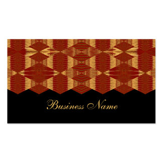 Business Card Red & Yellow Lanterns Business Card