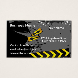 Business Card Road Signs 2