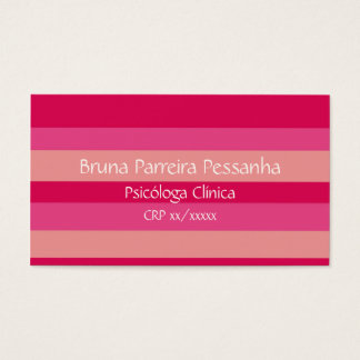 Business card rose listrasdo