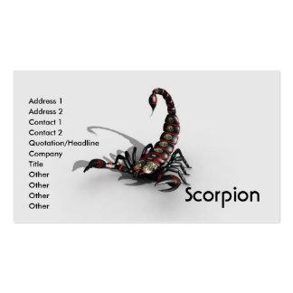 Business Card Scorpion