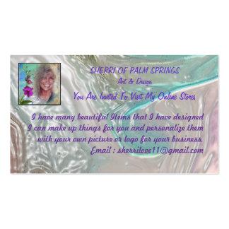 BUSINESS CARD,  SHERRIOFPALMSPRING BUSINESS CARD