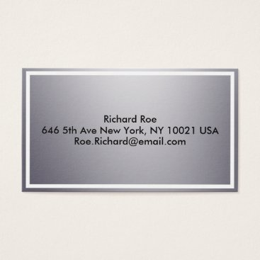 USA Themed Business card - simple