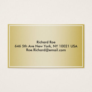 Business card - simple