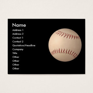 business card - sports