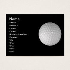 Business Card - Sports at Zazzle