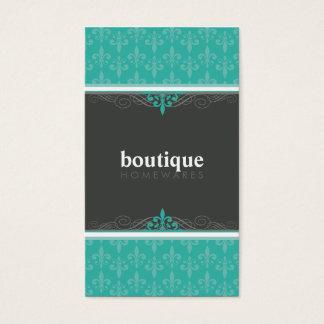 BUSINESS CARD stylish fleur de lis