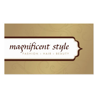 BUSINESS CARD :: stylish magnificence 7
