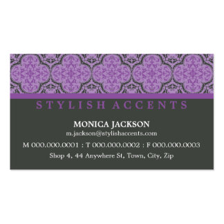 BUSINESS CARD :: stylishly antiqued L11
