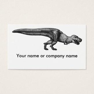 Business card T-rex
