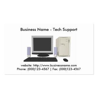 Business Card: Tech Support Business Card