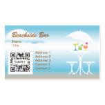 Business Card Template Beachside Bar