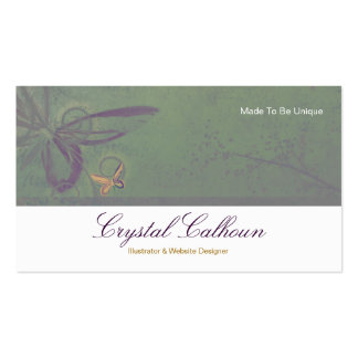 Business Card Template - Beautiful Butterfly