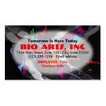 Business Card Template - Bio Art Oval