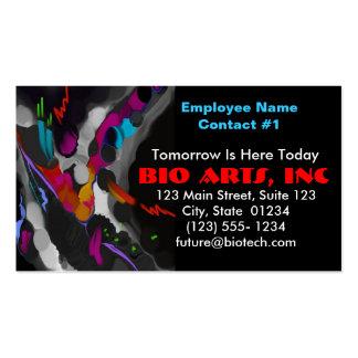 Business Card Template - Bio Art Side