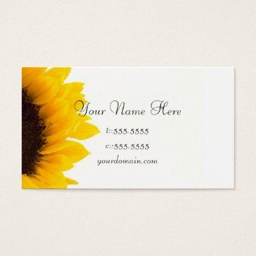 Professional Business Business Card Template **Bold Sunflower