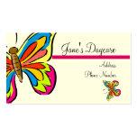 Business Card Template **Butterflies 1