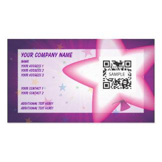 Business Card Template Celebration