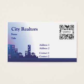 Business Card Template City Realtors