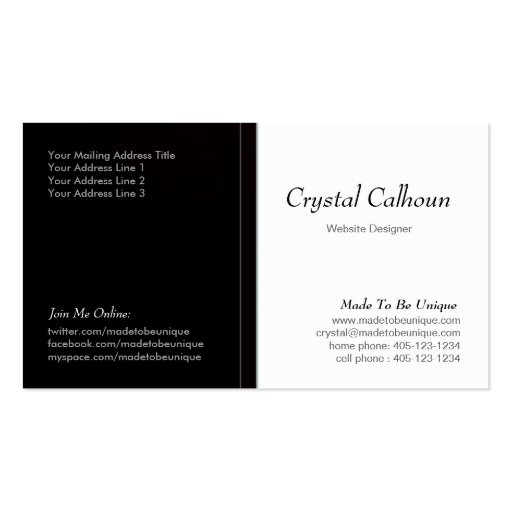 Rustic / Country Business Card Templates - Page33 : BizCardStudio