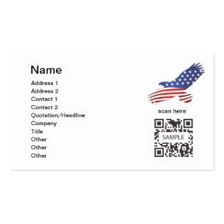 Business Card Template Eagle
