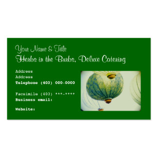 Business Card template, food cuisine catering Business Card Templates