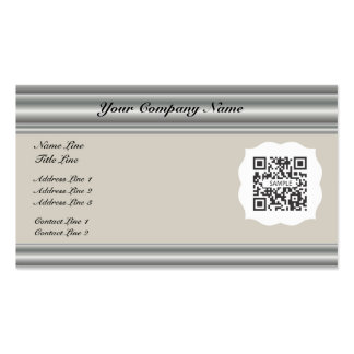 Business Card Template Generic Formal Neutral
