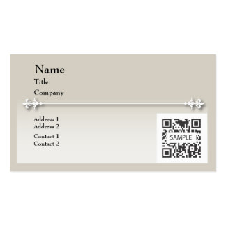 Business Card Template Generic Neutral