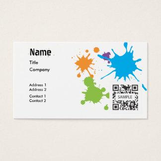 Generic business card template mandegarfo generic business card template flashek Images