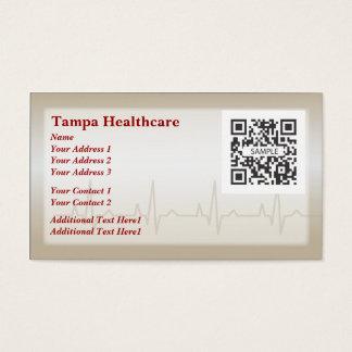 Business Card Template Heart Health