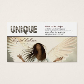 Business Card Template - if I were an angel