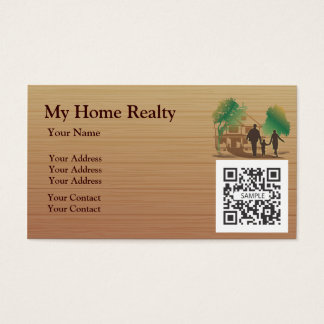Business Card Template My Home Realty