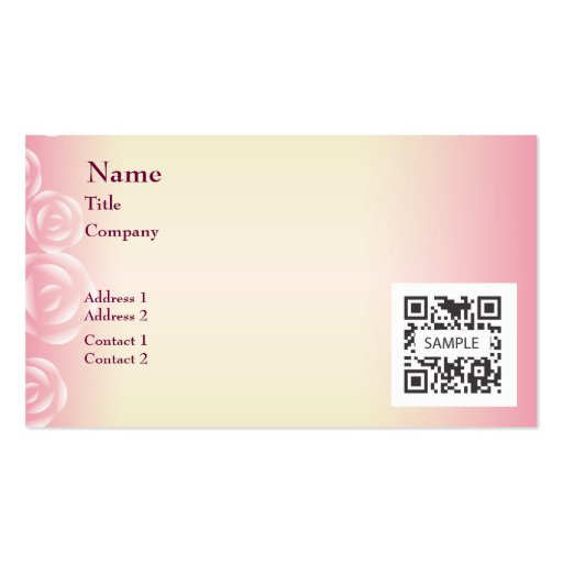 Pink business cards militaryalicious pink business cards flashek Gallery