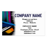 Business Card Template Side - Strategic Upswing