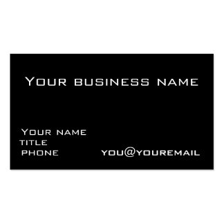 Business card template with social media icons 2