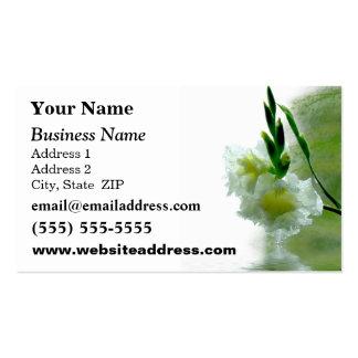 Business Card Templates: Florist